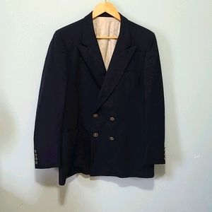 ⭐Vintage Christian Dior Jacket Blazer Navy…